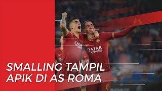 Tersingkir dari Manchester United, Chris Smalling Tampil Apik di AS Roma
