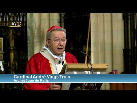 Homélie de Mgr Vingt-Trois - Messe annuelle des responsables politiques