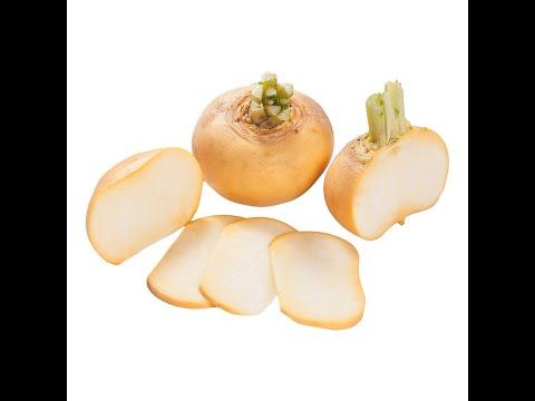 Пареная репа. Steamed turnips. 蒸萝卜. उबले हुए शलजम
