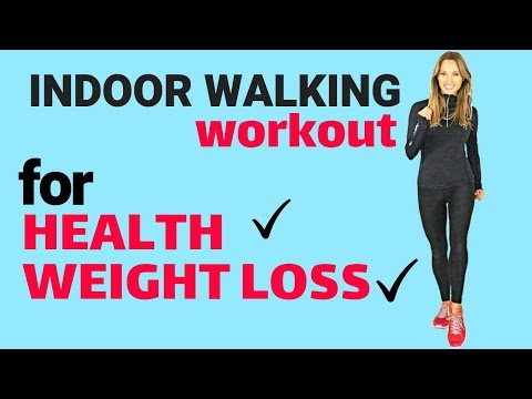 WALKING AT HOME - WEIGHT LOSS & HEALTH INDOOR WALK WITH TOTAL BODY MOVES IDEAL FOR BEGINNERS