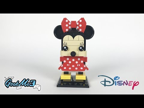 Vidéo LEGO BrickHeadz 41625 : Minnie Mouse