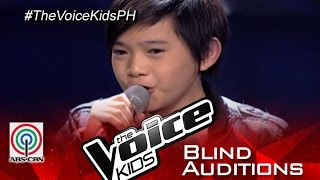 "The Voice Kids Philippines 2015 Blind Audition: ""I'll Be There"" by Francis"