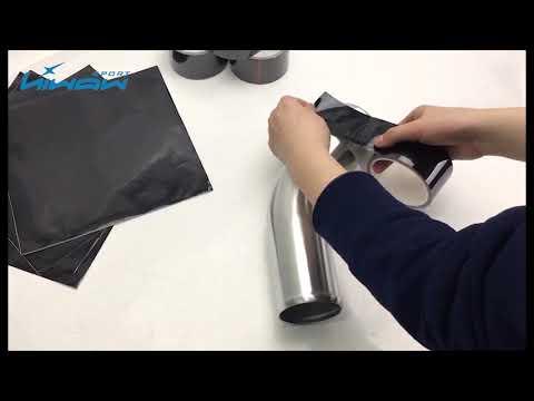 Black Heat Reflective Wrap