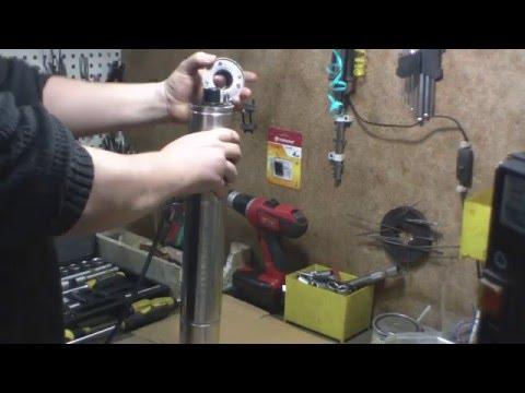 Разбираем шнековый насос часть 1...   (dismantle the screw pump Part 1)