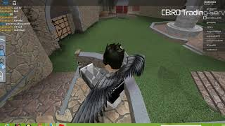 FAN GIVES A KNIFE FOR FREE IN CBRO must watch A New Roblox