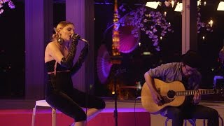 """Alexandra Stan """"夜桜"""" Special Live from YouTube Space Tokyo"""