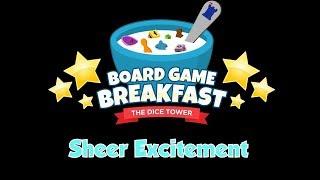 Board Game Breakfast - Sheer Excitement