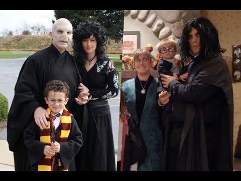 Disfraces caseros de harry Potter para toda la familia