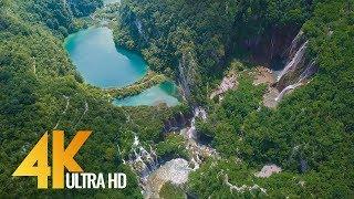 4K Drone Footage   Bird's Eye View Of Croatia, Europe   3 Hour Ambient Drone Film