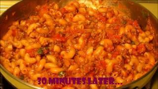 Beef Macaroni - Easy One Pot Recipe