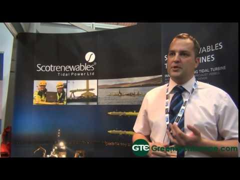 Scotrenewables Tidal Power Ltd Interview: Floatinf tidal turbine