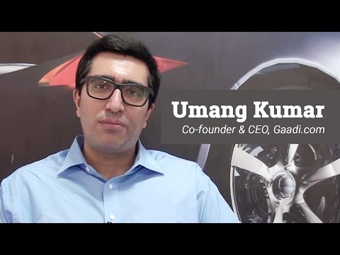 Gaadi.com's Umang Kumar opens up on selling his company twice