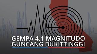 Gempa Bumi Tektonik 4.1 Magnitudo Guncang Bukittinggi, BMKG: Akibat Sesar Sumatera Segmen Sianok