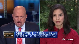 How will President Donald Trump, Senate react to Democrats' stimulus plan?