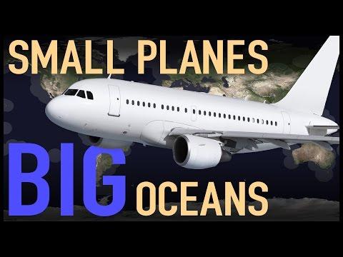 Malým letadlem přes velké oceány