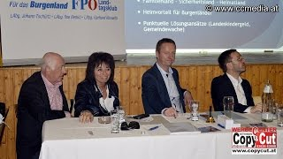 preview picture of video '31. 1. 2015 - FPÖ Mitgliederversammlung in Loipersbach - CCM-TV.at'