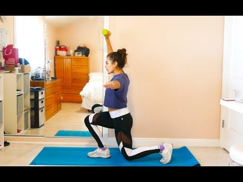 Core Control Rear Lunge