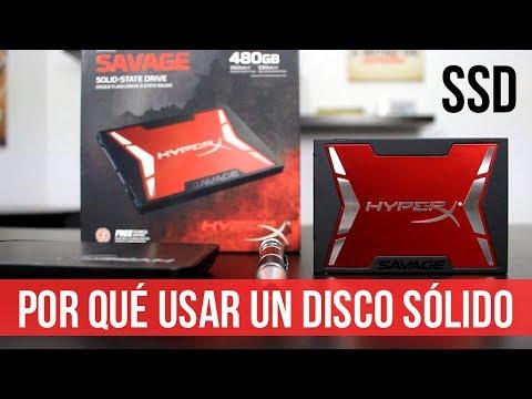 Por Qué Usar un Disco Solido? UNBOXING SSD Kingston Hyperx Savage