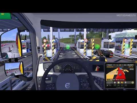 Euro Truck Simulator 2 - Open Beta V1 30 with mod - смотреть