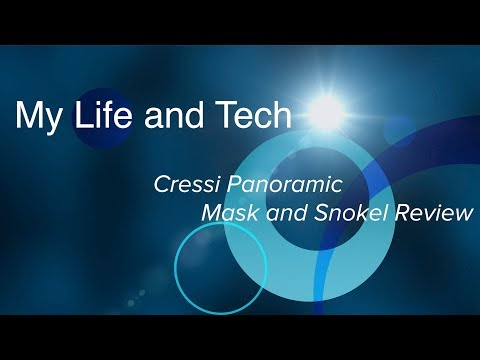 Cressi Panoramic Wide View Mask and Dry Snorkel review