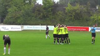 preview picture of video 'FSV Erlangen Bruck-SpVgg Oberfranken Bayreuth (8.Spieltag Bayernliga Nord 2013/14)'
