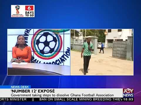 Police Take Over GFA Premises - News Desk on Joy News (8-6-18)