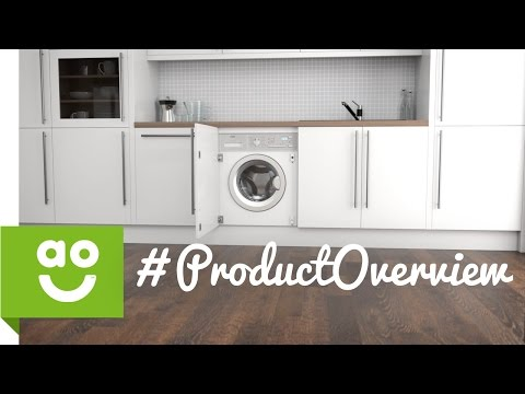 AEG Integrated Washing Machine L61470BI Product Overview | ao.com