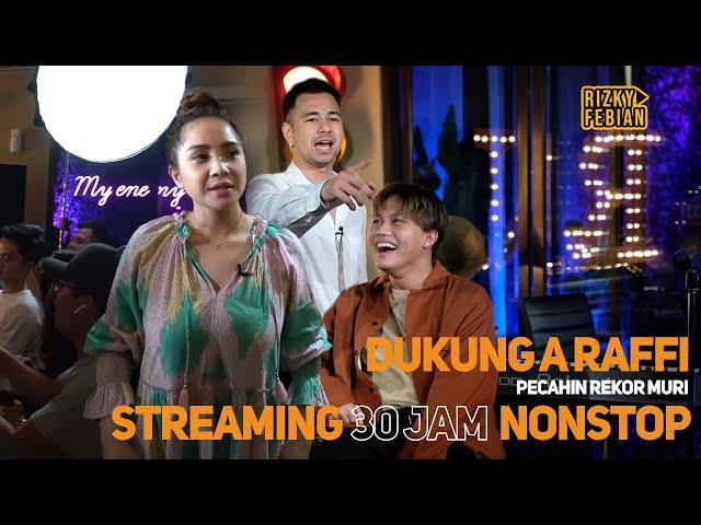 Akhirnya Manggung di Acara Raffi Ahmad Live Streaming 30 Jam NON STOP ! | RFAS Vlog