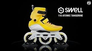 Inlines Powerslide Swell Atomic tangerine - 3x110mm