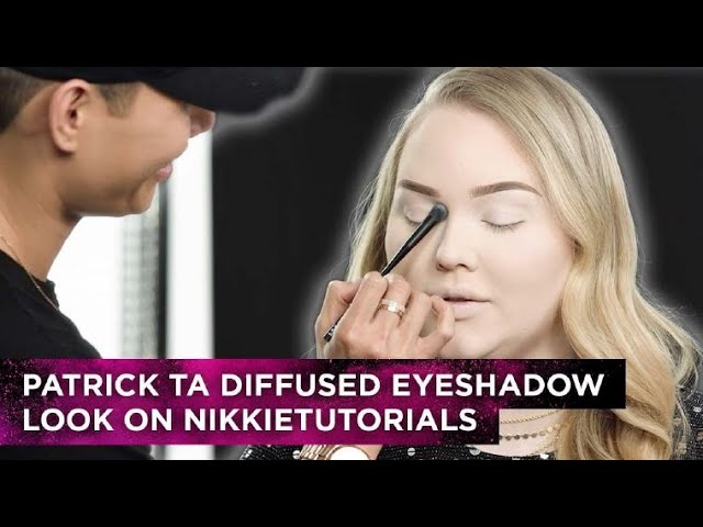 Diffused Eyeshadow Look - Patrick Ta + NikkieTutorials