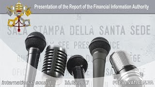 2017.05.16 Report of the Vatican's Financial Information Authority