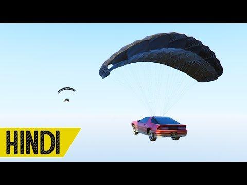 Mount Chiliad Se Jump in GTA 5 ONLINE - HINDI/URDU (видео)