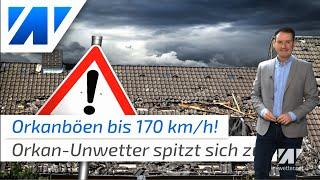 wetter.net spazial: Orkan Sabine errteicht in diesen Stunden besonders den Norden. Dort werden bereits bis zu 120 km/h gemessen. In der Nacht zieht das Sturmfeld über Deutschland. Dabei könnte es noch heftiger werden als zunächst gedacht!   Unsere Webseite: https://wetter.net  Besucht uns auch bei:  Facebook: http://bit.do/facebookwetter Instagram: http://bit.do/instagramwetter Twitter:     http://bit.do/twitterwetter