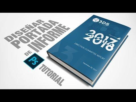 Tutorial Photoshop diseña una portada de informe by @ildefonsosegura