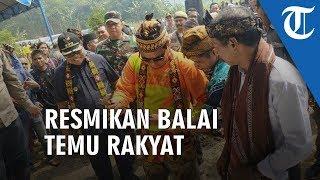 Gubernur Kalsel Resmikan Balai Temu Rakyat Dayak Pitap