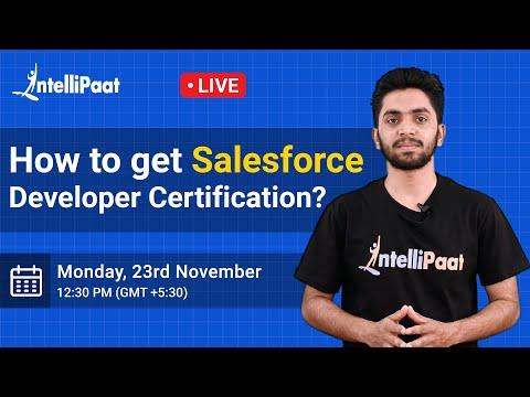 How to get Salesforce Developer Certification | Salesforce ...