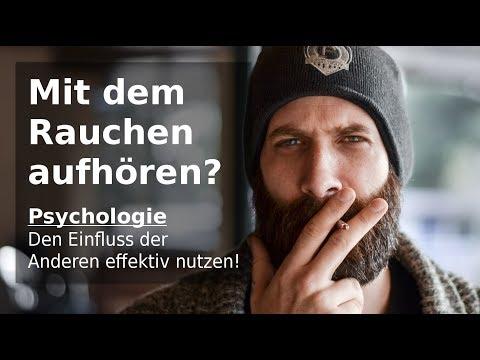Umsonst die Hypnose Videos Rauchen aufzugeben