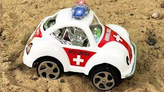 Ambulance, Tow Truck   Emergency Vehicles Cartoon   Cars & Trucks For Kids