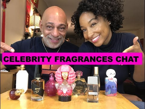 Celebrity Fragrances Chat with Tiff Benson