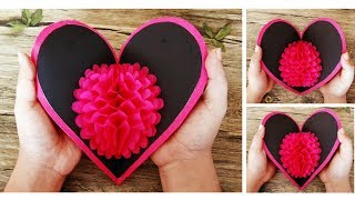 3D Pop Up Heart Card | DIY Valentine Cards | Handmade Cards | Scrapbooking | Craftastic