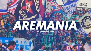 AREMANIA Match Arema Vs Persib 00 18/12/2016