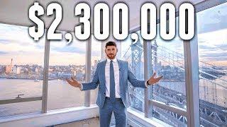 NYC Apartment Tour: $2.3 MILLION LUXURY APARTMENT