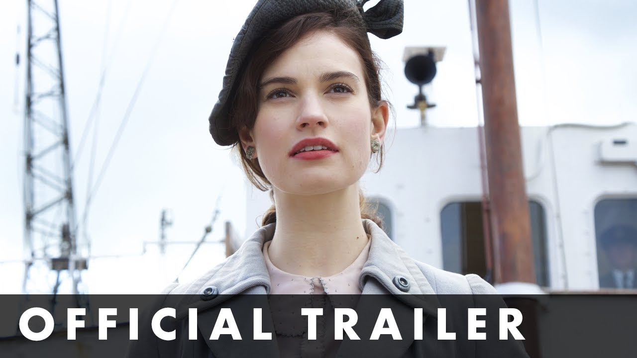>THE GUERNSEY LITERARY & POTATO PEEL PIE SOCIETY - Official Trailer - Starring Lily James