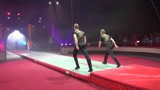 Надувная акробатическая дорожка - применение в цирке