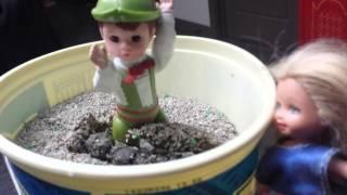 Little Hitler gets stinky