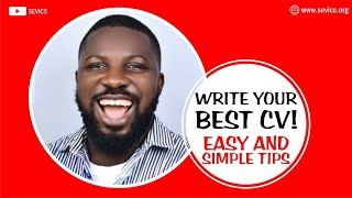 How to write a CV │ All you need to know │ 2020 Strategies │ Step by Step Guide │ DIY