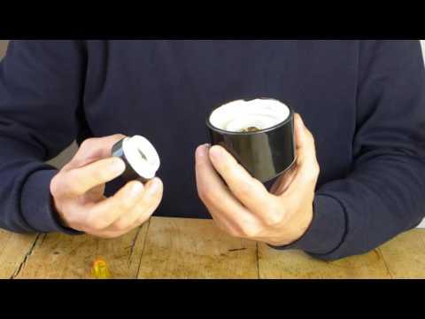 Badleuchte aus Porzellan – Montage