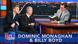Dominic Monaghan, Billy Boyd, And Peter Jackson Try To Stump Stephen With LOTR Trivia thumbnail