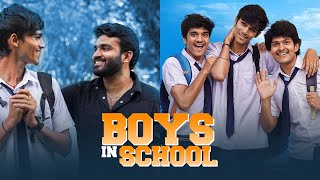 Boys in School | Childhood Nostalgia ft. Kiran Abbavaram | RVRGOnNov29 | Boy Formula | Chai Bisket