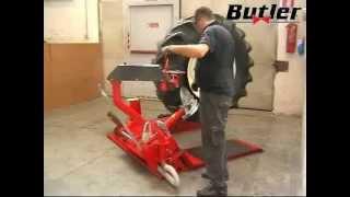 Шиномонтажный стенд BUTLER от компании АвтоСпец - видео